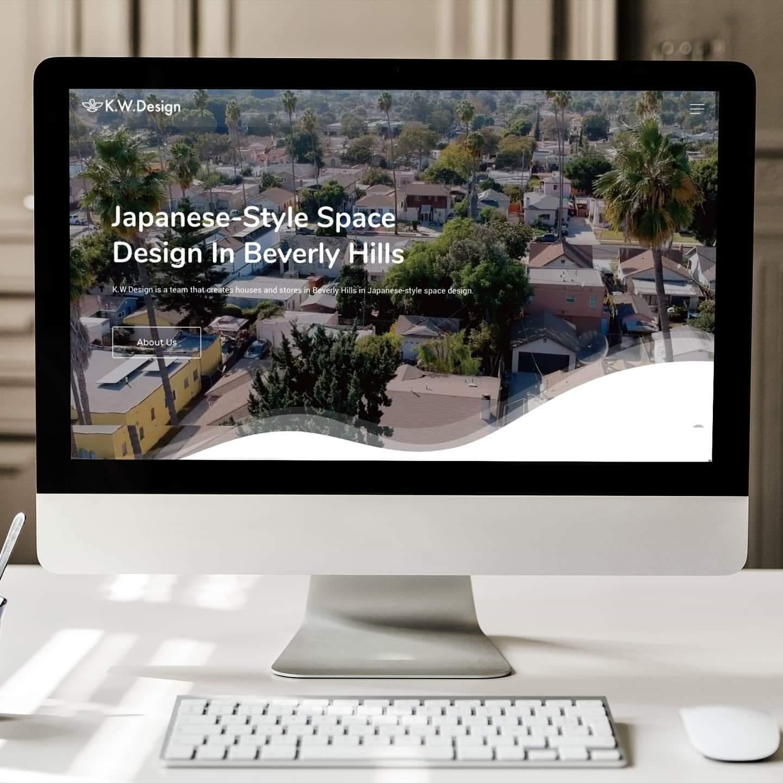 ビバリーヒルズの住居・店舗向け日本空間デザイン事業開始のお知らせ